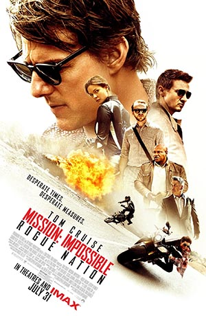 Mission: Impossible - Rogue Nation (2015) poster